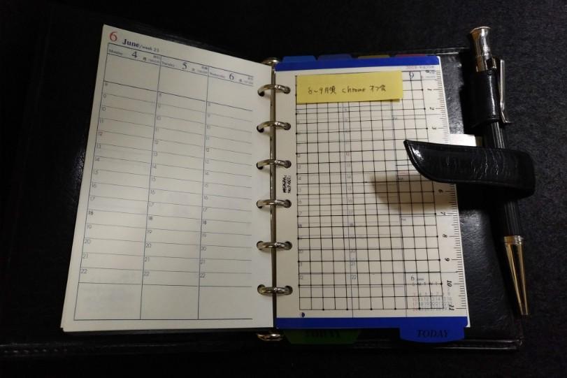 ブレイリオのミニ6穴システム帳「オイルバッファロー」を再び使い始めましたの画像