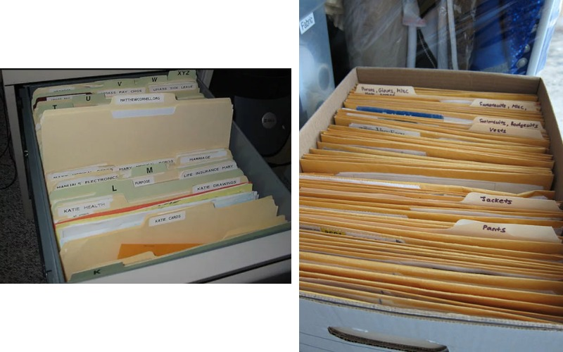 manila folder example